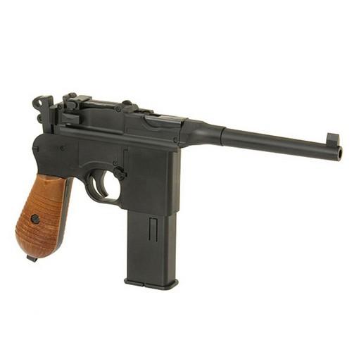 Pistolet C96 Noir CO2 Fixe