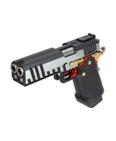 Pistolet HX2101 double canon silver GBB