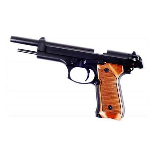 Pistolet M92L Noir WE