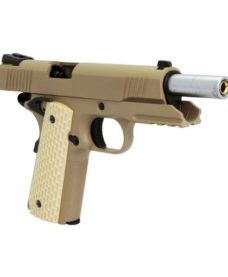 Pistolet WE 1911 Kimber Style tan GBB
