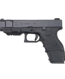 Pistolet WE G33 Adv Gen 3 III GBB Noir Gaz