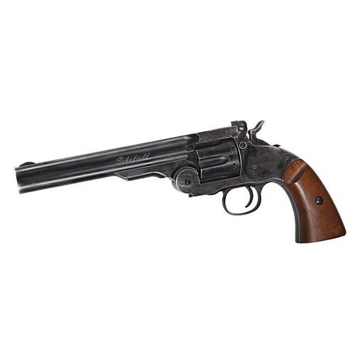 "Revolver Schofield 6"" Noir CO2"