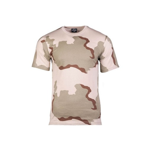 T-Shirt airsoft camouflage desert taille L