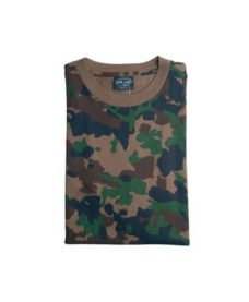 T-Shirt airsoft camouflage suisse Taille XL